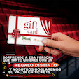REGALA UN GIFT CARD del TEATRO TRAIL